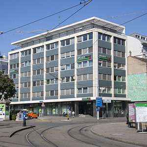 Basel Aeschenvorstadt Bankgebäude City