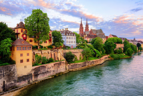 The,old,town,of,basel,with,red,stone,munster,cathedral